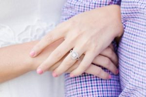 how much should a man spend on engagement ring