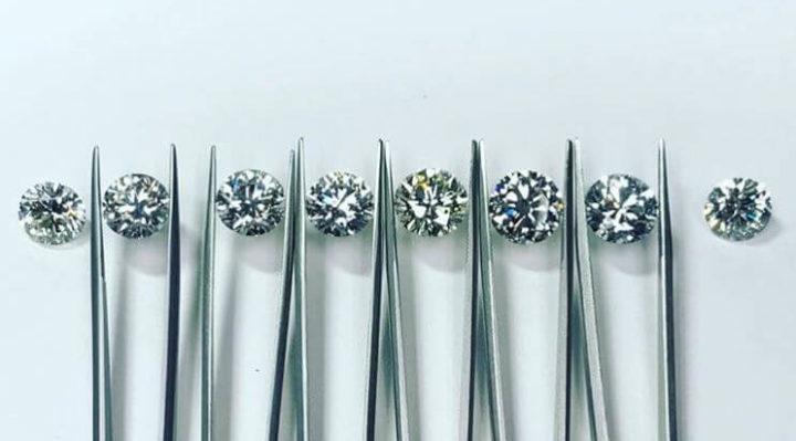 determine diamond clarity