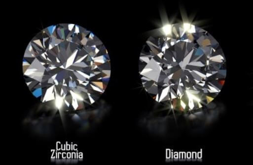Cubic Zirconia vs Diamond Beauty and Brilliance
