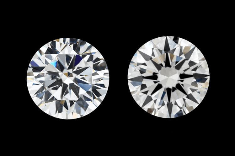 Cubic Zirconia vs Diamond Inclusions